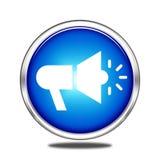 Simbolo dell'altoparlante Immagini Stock Libere da Diritti