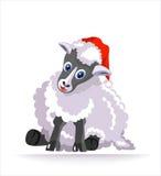Simbolo dell'anno - pecora Fotografia Stock