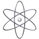 Simbolo dell'atomo Fotografie Stock Libere da Diritti