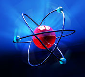 Simbolo dell'atomo Fotografia Stock