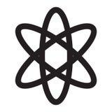 Simbolo dell'atomo Fotografia Stock Libera da Diritti