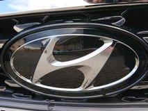 Simbolo dell'automobile di Hyundai fotografia stock