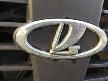 Simbolo dell'automobile di Lada Fotografie Stock Libere da Diritti