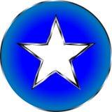 Simbolo dell'icona della stella Immagine Stock Libera da Diritti