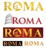 Simbolo dell'icona di Roma Immagine Stock Libera da Diritti