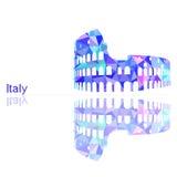 Simbolo dell'Italia royalty illustrazione gratis