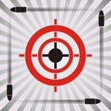 Simbolo dell'obiettivo Fotografia Stock Libera da Diritti