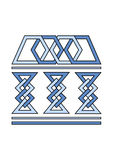 Simbolo dell'università Immagine Stock