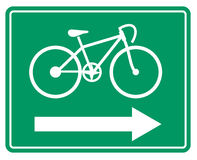 Simbolo della bicicletta royalty illustrazione gratis