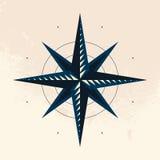 Simbolo della bussola Immagini Stock Libere da Diritti
