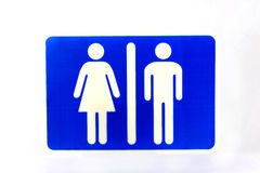 Simbolo della donna e dell'uomo Immagine Stock Libera da Diritti