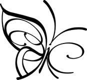 Simbolo della farfalla Fotografie Stock