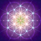 Simbolo della geometria sacra Fotografia Stock Libera da Diritti