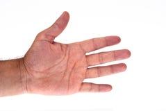 Simbolo della mano Fotografia Stock Libera da Diritti