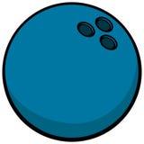 Simbolo della palla da bowling Fotografia Stock