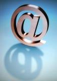 Simbolo della posta Fotografia Stock Libera da Diritti