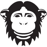 Simbolo della scimmia del Natale e del nuovo anno Immagini Stock