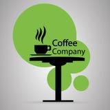 Simbolo della società del caffè Fotografia Stock