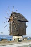 Simbolo della spiaggia della Bulgaria Fotografia Stock
