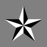 Simbolo della stella Fotografia Stock Libera da Diritti