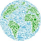 Simbolo della terra Immagine Stock Libera da Diritti