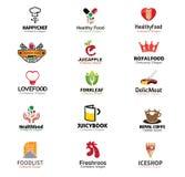 Simbolo delle bevande e dell'alimento Fotografie Stock Libere da Diritti