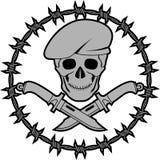 Simbolo delle forze speciali Fotografie Stock Libere da Diritti