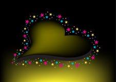 Simbolo di amore e del cuore Fotografie Stock