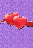 Simbolo di amore e del cuore Immagini Stock Libere da Diritti