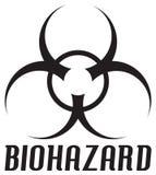 Simbolo di Biohazard Fotografie Stock