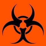 Simbolo di Biohazard illustrazione vettoriale