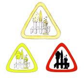 Simbolo di chimica Immagine Stock