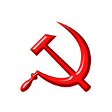 Simbolo di comunismo Fotografie Stock Libere da Diritti