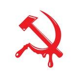 Simbolo di comunismo Immagine Stock