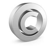Simbolo di Copyright Immagini Stock