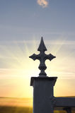 Simbolo di credenza cristiana immagine stock