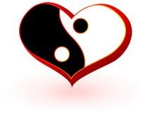 Simbolo di cuore Fotografie Stock