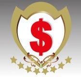 Simbolo di dollaro Immagine Stock Libera da Diritti