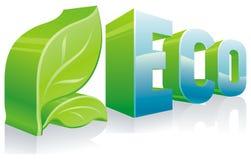Simbolo di ecologia Fotografie Stock Libere da Diritti