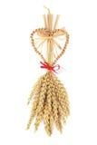 Simbolo di fertilità del carrello di cereale fotografie stock
