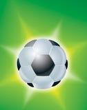 Simbolo di gioco del calcio Fotografie Stock Libere da Diritti