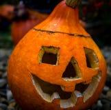 Simbolo di Halloween Zucca intagliata di Halloween immagini stock