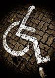 Simbolo di handicap Immagine Stock Libera da Diritti