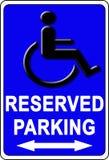 Simbolo di handicap Fotografie Stock