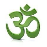 simbolo di Hinduism 3D Immagini Stock Libere da Diritti