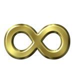 Simbolo di infinità Fotografie Stock