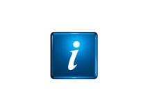 Simbolo di informazioni Fotografia Stock