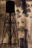 Simbolo di inquinamento industriale Fotografia Stock