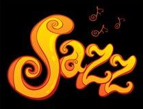 Simbolo di jazz Fotografia Stock