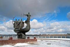 Simbolo di Kiev fotografia stock